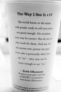 Starbucks the way I see It